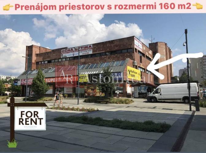 Reality Prenájom:Priestor o rozlohe 160m2 v OC Fix Dubnica nad Váhom