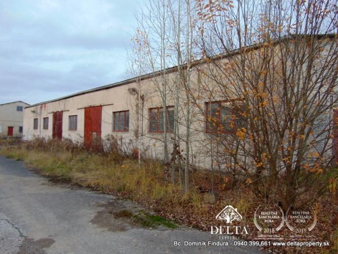 Reality DELTA -Výrobno-skladovacie priestory na predaj Markušovce