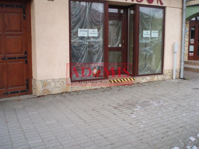 Reality ponuka na predaj ( prenájom) komerčný objekt, Moldava nad Bodvou