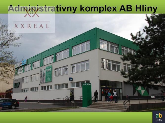 Reality PRENÁJOM - Veľké obchodné / kancelárske priestory v komplexe AB HLINY, PB