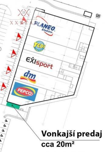 Reality PRENÁJOM - obchodný priestor / stánok na celoročný predaj v RGB Javorina s benefitmi - NMnV