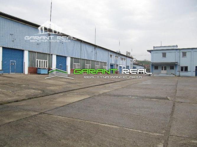 Reality GARANT REAL - prenájom výrobné a skladové priestrory, haly, administratívna budova Prešov, ši