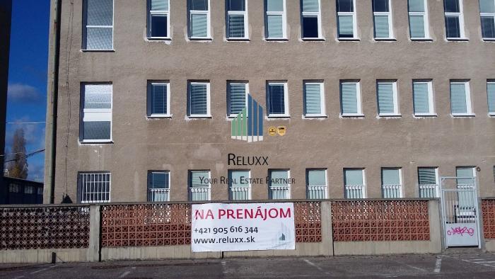 Reality BA II Ružinov Mlynské Nivy administratívna budova prenájom 162 + 159 + 157 m2 kancelárskej ploc