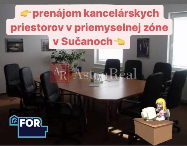 Reality Na prenájom kancelárske priestory v priemyselnej zóne v Sučanoch