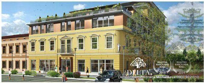 Reality DELTA PROPERTY ponúka lukratívne priestory na predaj v Poprade.