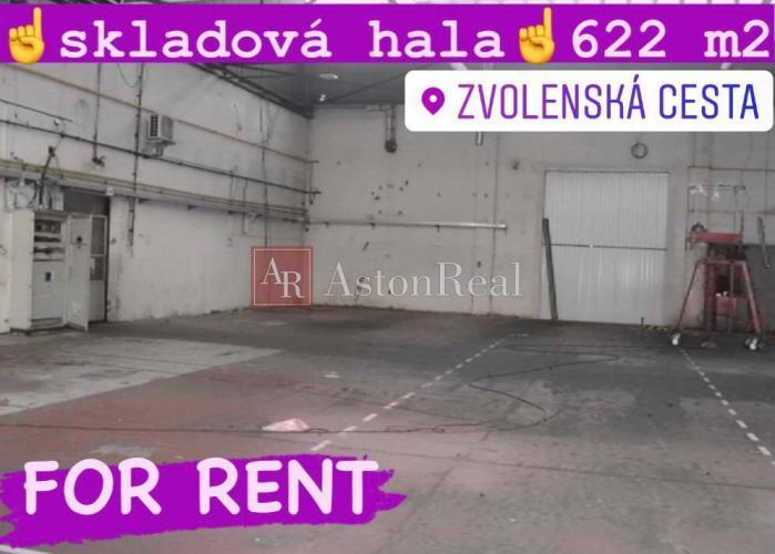 Reality Skladová hala 622 m2,  Banská Bystrica - Zvolenská cesta