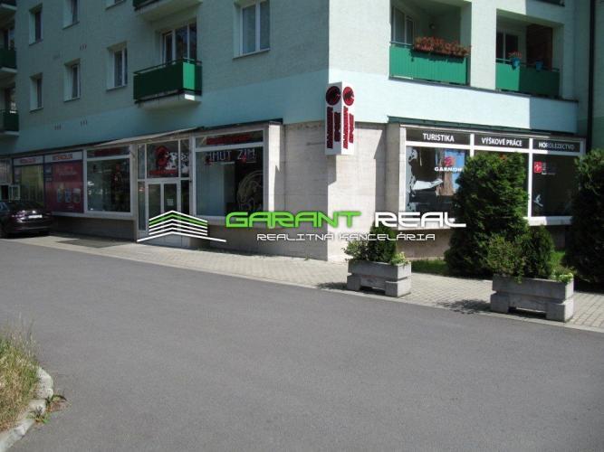 Reality GARANT REAL - predaj obchodný priestor 140 m2, Prešov, širšie centrum