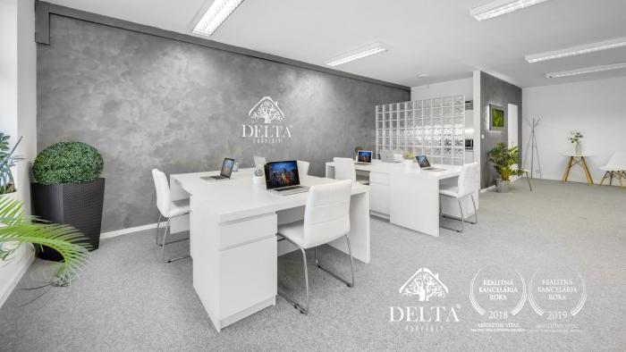 Reality DELTA | Obchodný - kancelársky priestor, Pažítková, Ružinov, 104 m2