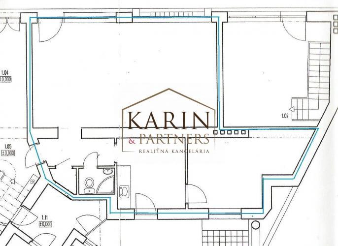 Reality Prenájom – Obchodný priestor 65 m2 s výkladom Staré mesto – BA I Top ponuka !