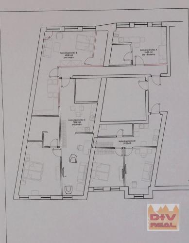 Reality Ponúkame na predaj nebytový priestor, Zámocká ulica, vhodné na kancelárie, kombináciu kancel