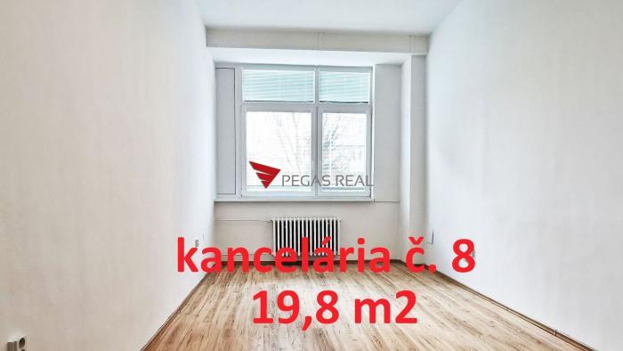 Reality Na prenájom kancelária 19,8 m2 Wolkrova, Bratislava V – Petržalka, VIDEOOBHLIADKA