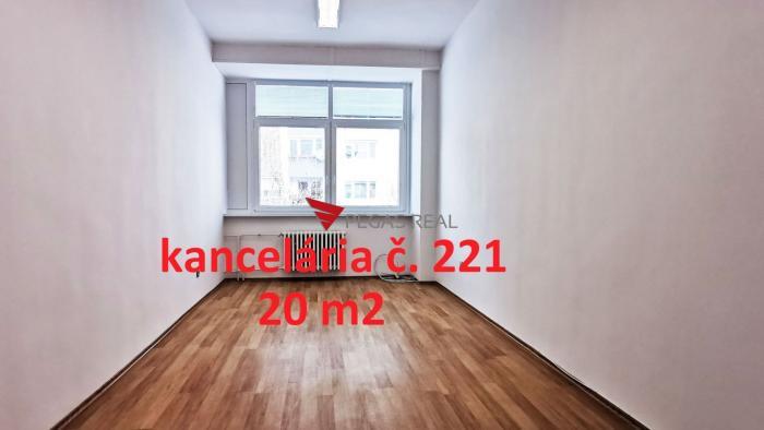 Reality Na prenájom kancelária 20 m2 Wolkrova, Bratislava V – Petržalka, VIDEOOBHLIADKA