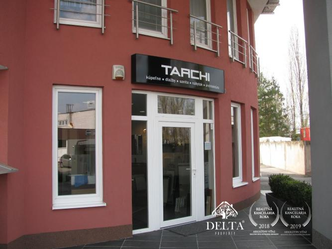 Reality DELTA | Obchodný priestor na prenájom, 2 parkovacie státia, Bratislava - Rožňavská, 96 m2
