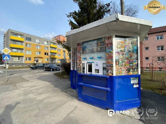 Reality Na predaj novinový stánok vo výbornej lokalite na Inoveckej