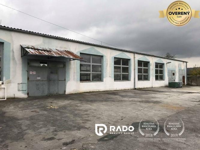 Reality Výrobné haly a skladové priestory s administratívou, Beckov