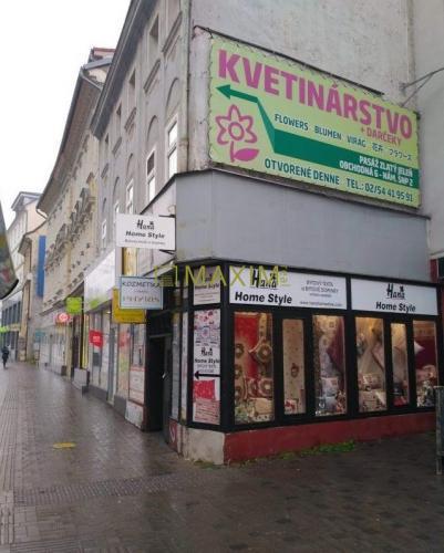 Reality Obchodný priestor  na Obchodnej ulici
