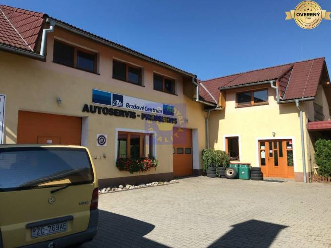 Reality Autoservis, mototechna + podkrovný byt 120m2 na predaj, Žarnovica