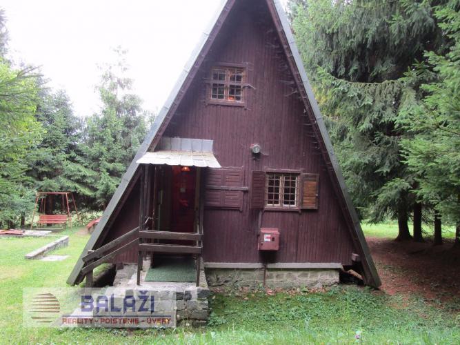 Reality MARTIN zariadená drevená chata na poz.100m2, Stráne
