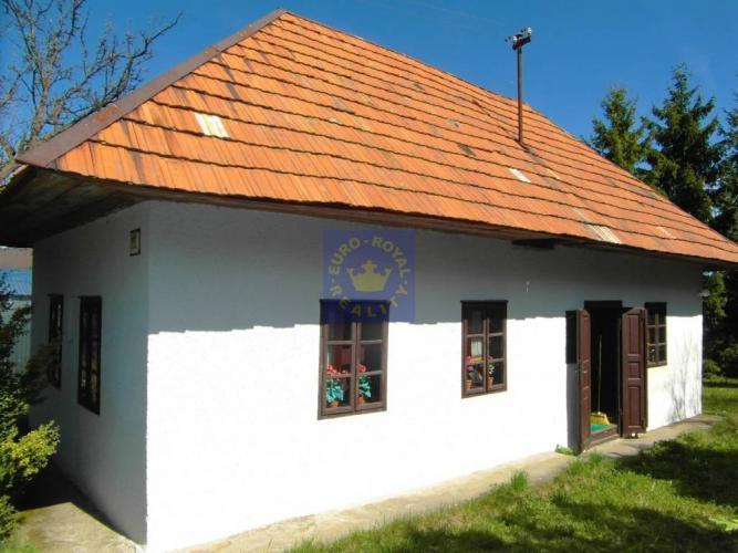 Reality Rekreačný domček na predaj v obci Malá Lehota, okres Žarnovica