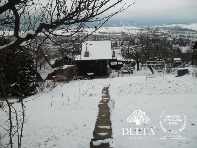 1015e63c7 Reality DELTA Property ponúka na predaj exkluzívne záhradu so záhradnou  chatkou v Liptovskom Mikuláši