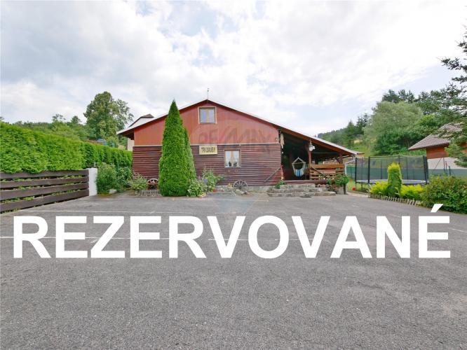 Reality PREDAJ: Rekreačné chaty Tri Zruby Potok pri Bešeňovej