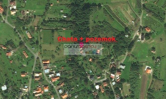 Reality Ponúkame na predaj útulnú chatu v obci Rybník - časť Kráľovka