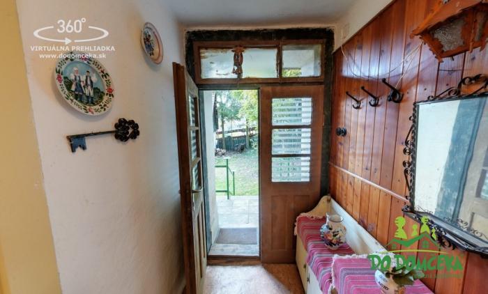 Reality REZERVOVANÉ Rekreačná chata v pokojnej časti mesta Zvolen, Kráľová