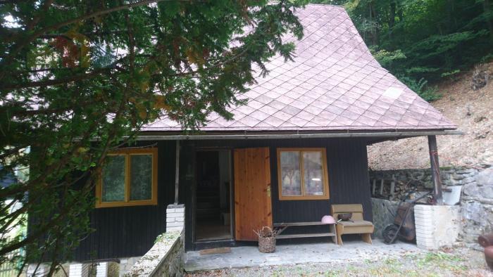 Reality Celoročne obývateľná  chalupa pod lesom v obci Horná Maríková.