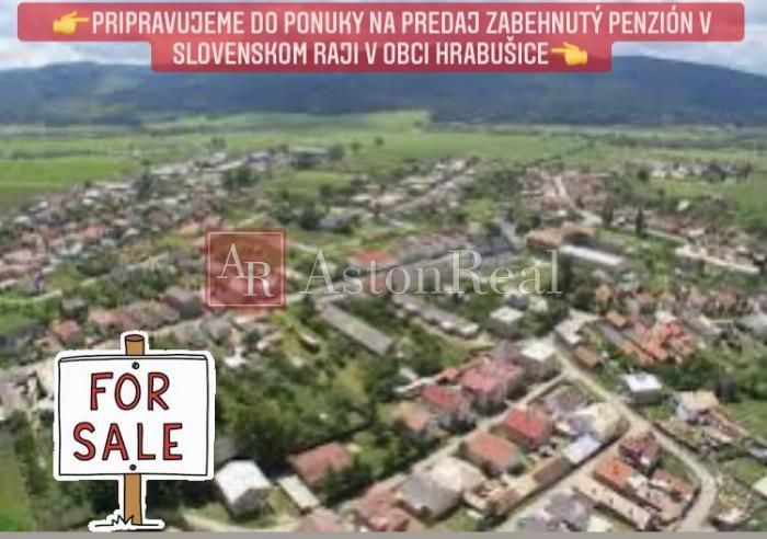 Reality Pripravujeme do ponuky PREDAJ zabehnutého PENZIÓNU v Slovenskom Raji