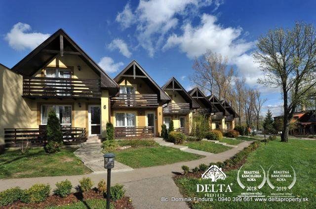 Reality DELTA - Útulná radová chatka na predaj Veľký Slavkov