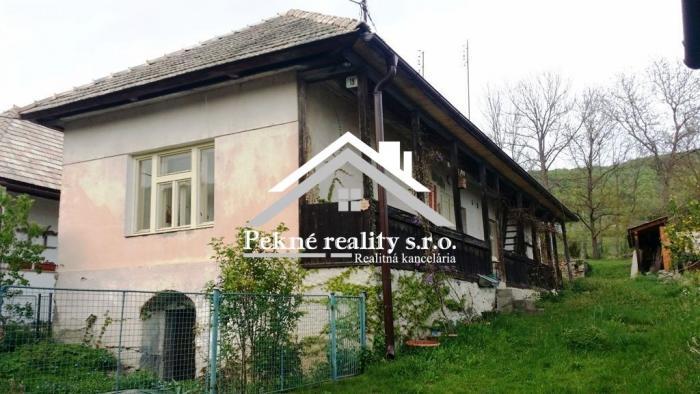 Reality Predaj chalupy v obci Horný Tisovník