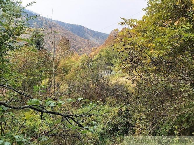 Reality Stará padnutá chalupa v horskej osade s lesom v Hornej Marikovej