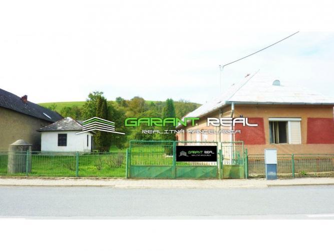 Reality GARANT REAL - predaj rekreačného objektu s pozemkom 4725 m2, Dubovica, okr. Sabinov