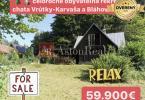 Reality Predaj!Celoročná Rekreačná chata na Karvaša Blahovca s pozemkom 716m2