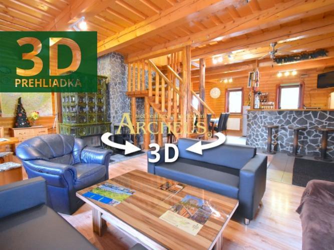 Reality 3D_OBHLIADKA_EXKLUZÍVNE_CHATA TATRANSKÁ KOTLINA_400m2