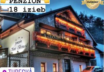 Reality Predaj: PENZIÓN V ALPSKOM ŠTÝLE, Turecká -13 km Donovaly