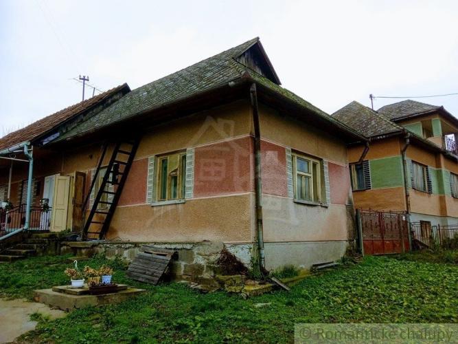 Reality Menší rodinný dom vhodný na chalupu v obci Príbelce