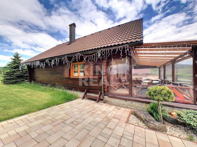 Reality Drevený zrub vhodný na celoročné bývanie v Regetovke okr. Bardejov