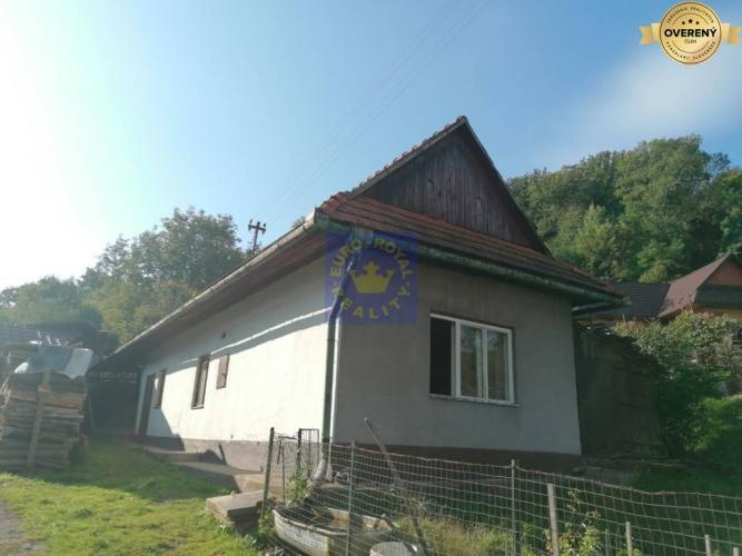 Reality Na predaj domček pod lesom v obci Brehy