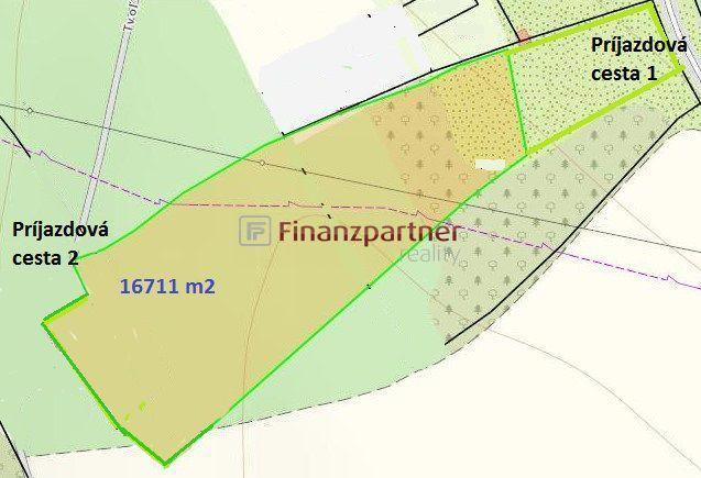 Reality Na predaj pozemok v extraviláne mesta Krupina (118-14-IJ)