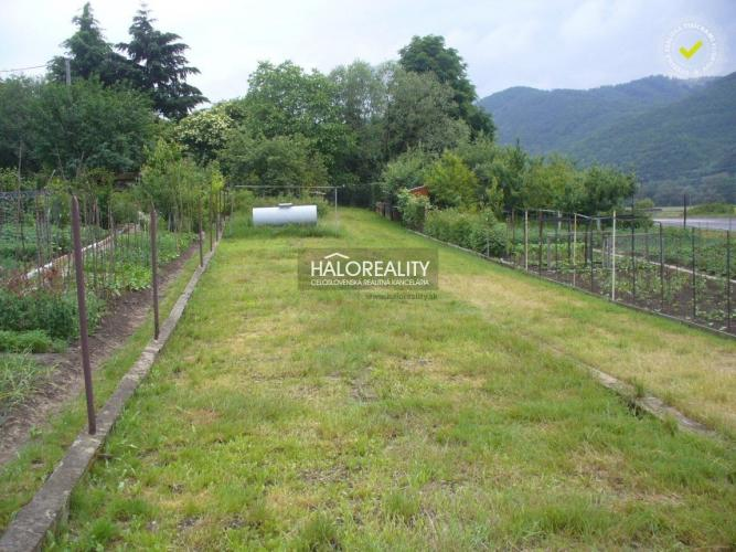 Reality Predaj, pozemok-záhrada 611 m2 Pitelová, okr. Žiar nad Hronom - EXKLUZÍVNE HALO REALITY