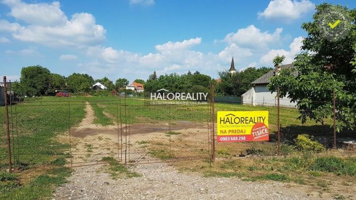 Reality Predaj, pozemok pre rodinný dom 3133 m2 Kráľová nad Váhom, okr. Šaľa