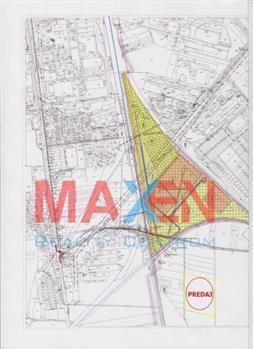 Reality PREDAJ: *MAXEN*, Pozemok na priemyselné účely cca 60 000 m2, pri  EUROPARK  BARCA, Košice IV - B