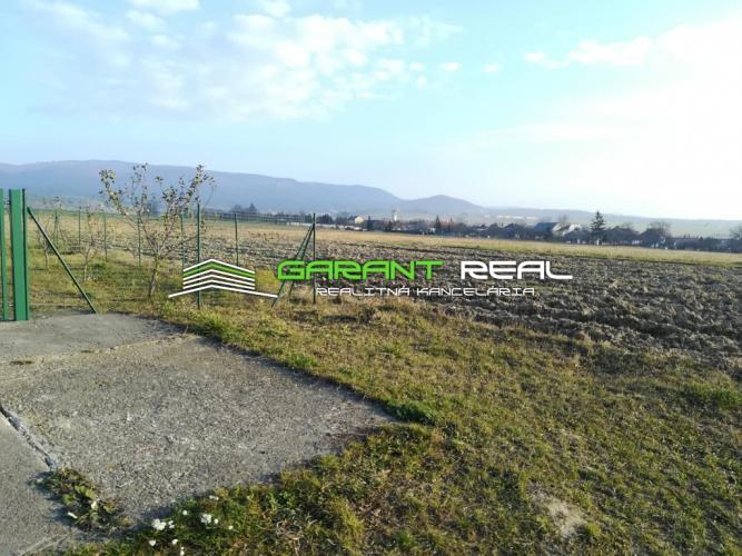 Reality GARANT REAL - predaj stavebný pozemok 890 m2, Teriakovce, okr. Prešov