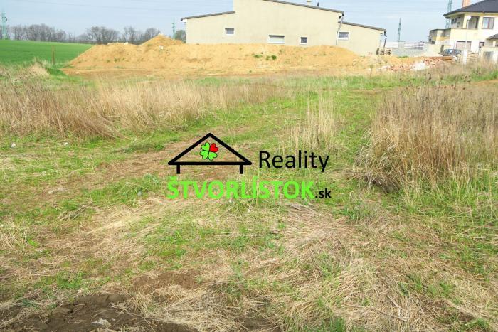 Reality Predaj, stavebný pozemok Senica - Košutovec 519m2 REZERVOVANÉ
