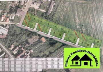 Reality Stavebné pozemky pre rodinné domy, Hronské Kosihy