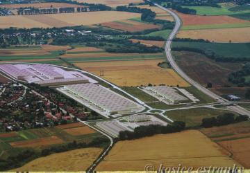 Reality Pozemky a haly v priemyselnom parku pri Košiciach