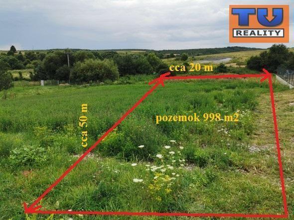 Reality STAVEBNÝ POZEMOK, Košice- okolie, Ďurďošík, výmera 998 m2, (cca 20mx50m). CENA: 55 990,00 EUR
