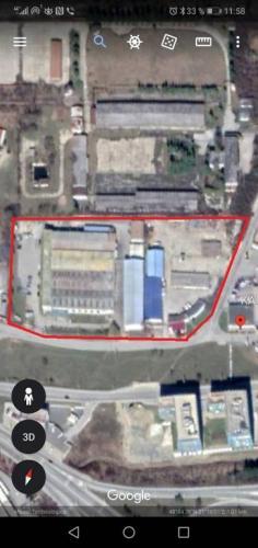 Reality Pozemok v priemyselnej zóne Košice - Ťahanovce, Dopravná, všetky IS,