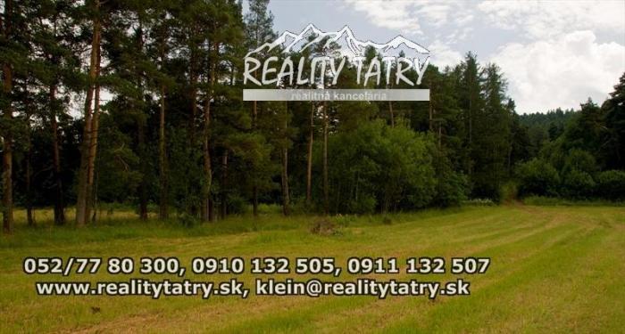 Reality Lacný pozemok vhodný na investíciu lokalita POPRAD - KVETNICA